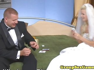 Nasty upskirt games Wedding dress bride pussylicked playing game