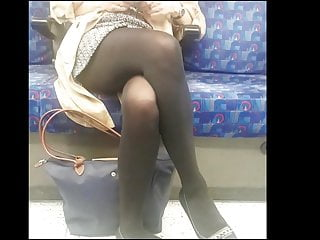 Adult continuing education in metro west Black opaque pantyhose girl in metro