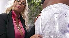 Jules Jordan - Bridgette B Big Tit MILF Gets Dredd's BBC