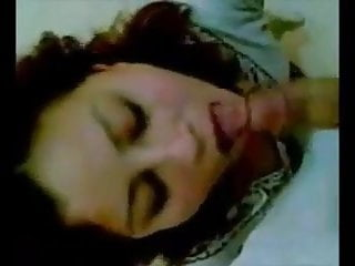 Sucking flacid penis - Arab girl sucks her lover s penis cum in mouth