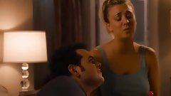 Kaley Cuoco Braless In The Wedding Ringer (2015)