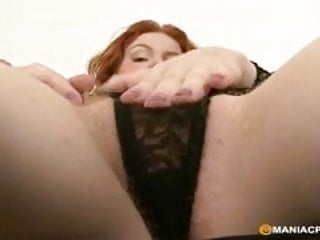 Beautiful red haired pussy Black cock in red-haired pussy
