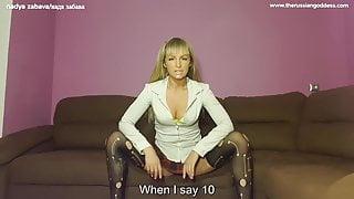 Cum for your mistress,faggot. Femdom JOI, CEI, beta,sissy