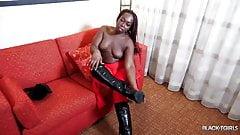 Ts black cherry twerking & jacking off
