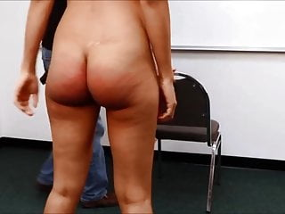 Blond coed nude video A nude teanager is punished