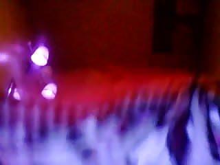 Black light at strip cluns Black light, neon paint, ahhmazzing