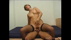 Dutch milf Shannon is anal fucked