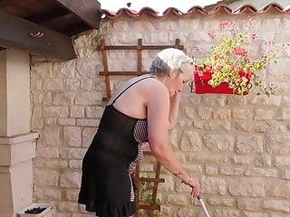 Virgin flights from uk - Granny from uk caroline feeding her old cunt