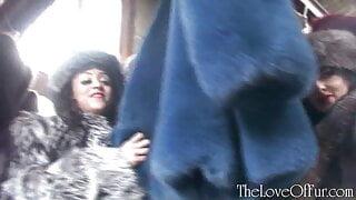 Mistresses in fur