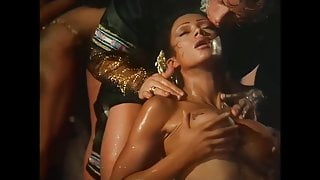 Tabatha Cash and the harem, upscaled to 50fps 4K