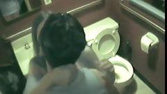 Fucking in the Public Restroom