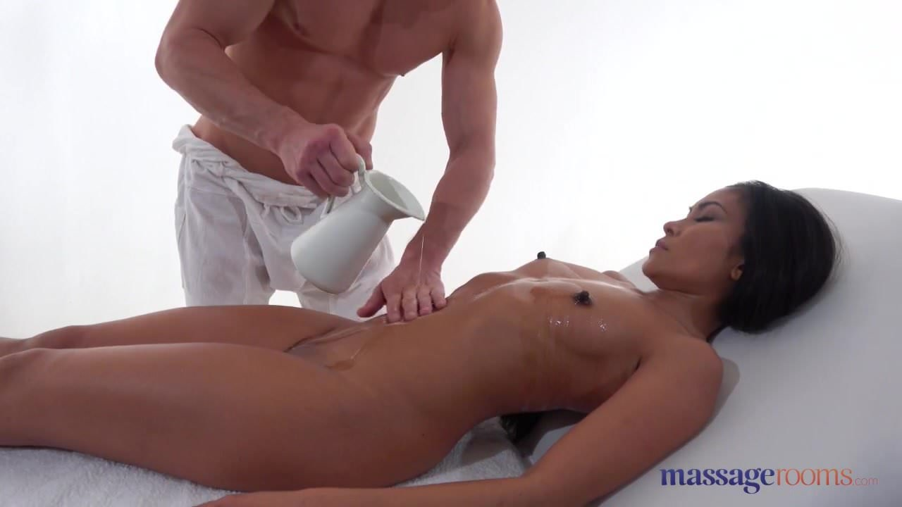 Japanese Oil Massage Fuck