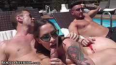RoccoSiffredi Orgy Party By The Pool