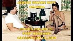 Il mio ghetto ebraico puttana moglie amanda