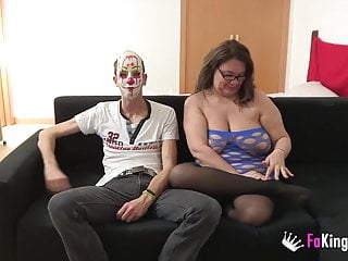 Enormous cock blowjob Enormously titted agata gets a rough anal pounding while hus