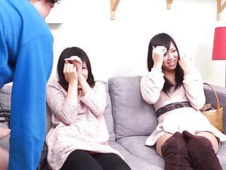 Morning surprise blowjob Subtitled cfnm japanese friend watches surprise blowjob