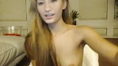 Asian Camgirl Dildoplay