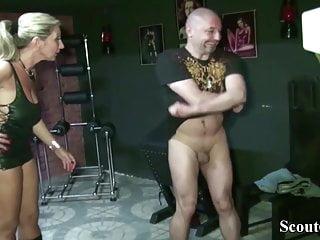 Milfs in latex bras Two german milfs femdom boy and seduce him to fuck in latex