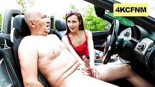 Grandpa, can I get a Free Ride? - CFNM