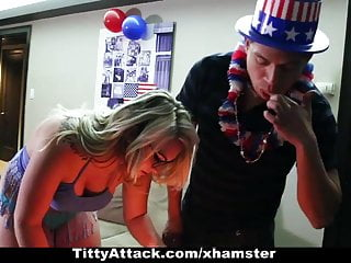 Sunnie texarkana escort - Tittyattack - busty sunny hart celebrates the 4th of july