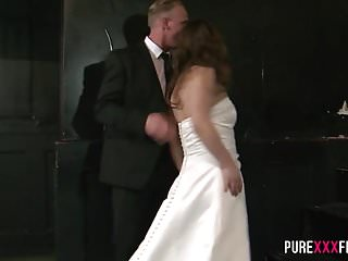 Bride fucks the best man Sucking on the best man