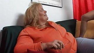 BBW, Dutch mature has sex