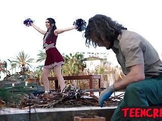 Hott sexy naughty nasty Nasty gardener destroys naughty joseline kellys wet pussy