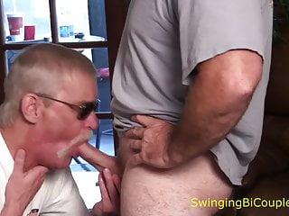 Bi guy and girl sucking cock Some guys like sucking cock with hot girls watching