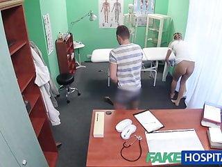 Couples sexy video - Fakehospital nurse watches as sexy couple fuck