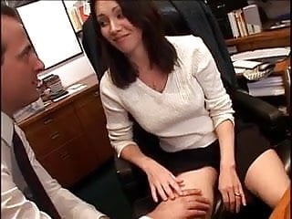 Office sex vids big butt Sexy milf office sex