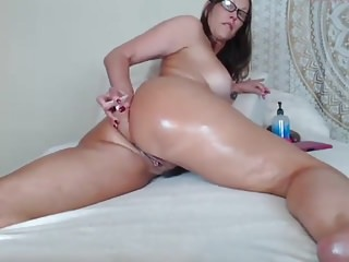 Big butt picture sex Milf toying her big butt