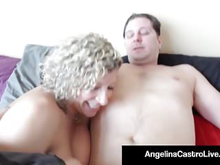 Castro monsters of cock - Cuban queen of bbw angelina castro steals sara jays cock
