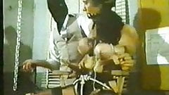 vintage - chair tight tied tits