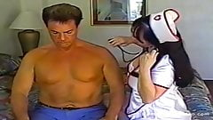 Nurse Gives Blowjob to a Patient with a Big Cock