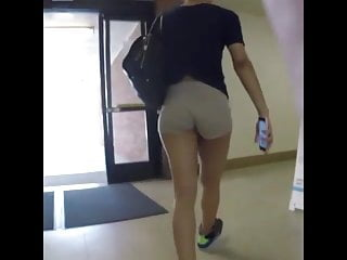 Tight and tan ass Tight wedgy ass and tanned legs candid