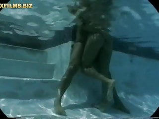 Voyeur video swim Bigtits milf loves the cock at the swimming pool