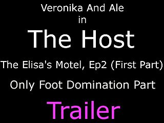Hosting amateur videos The host - foot domination