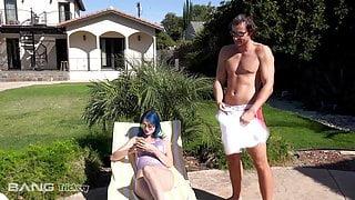 Trickery - Blue Hair Teen Jewelz Blu Tricks Student Into Sex