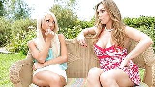 VIDEO - Caught Smoking - Tanya Tate, Katerina Kay