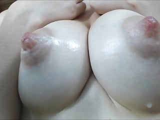 Milk dripping tits - Perky puffy nipples dripping milk