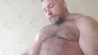 Musclebear pts andre jerking off
