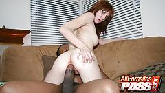 Skinny Pornstar Beau Marie Blacked With A Big Dick
