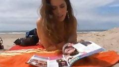 Teen am Strand