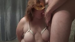 Big tied tits of slutty MILF
