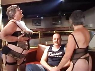 Fat grannies tits masturbating movies Two fat grannies gangbanged by young studs