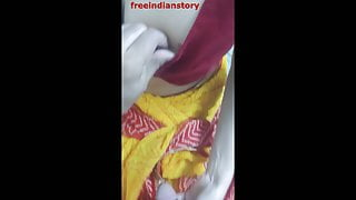 Indian maid grabbed and fucked at home by uncle