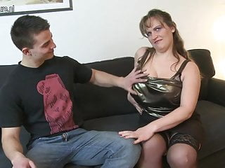Mature nl menstral - Mom with big saggy tits fucks young boy