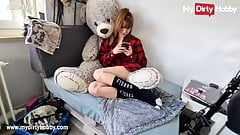 MyDirtyHobby - College babe seduces roommate for a creampie