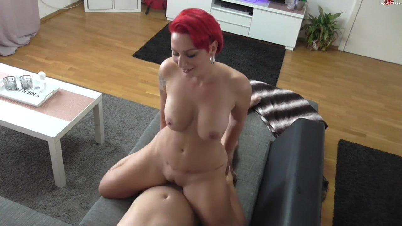 Horny Redhead Escort Fucking