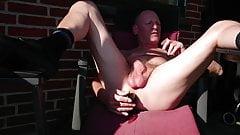 fuck my long black cock outdoor by dirtyoldman100001